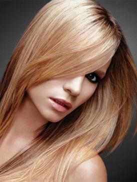 cabello brillante y con volumen